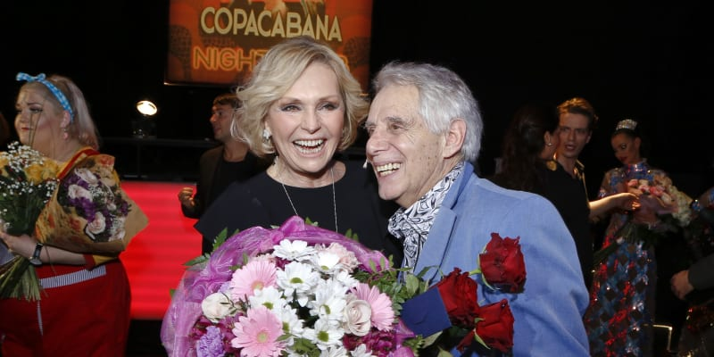 Josef Laufer s Helenou Vondráčkovou