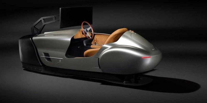 Simulátor Pininfarina Leggenda za 3,5 milionu korun.