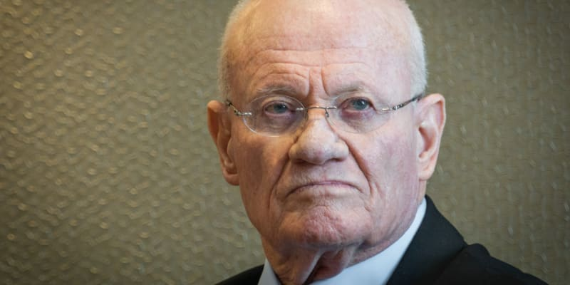 Bývalý šéf izraelského Mosadu Dani Jatom.