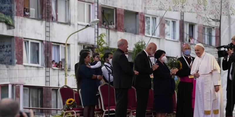 Ke katolické církvi, kterou František reprezentuje, se hlásí většina Slováků i slovenských Romů.