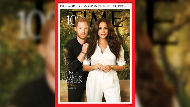 Meghan si na focení pro Time vzala šperky za osm milionů. Doplňky byly symbolické