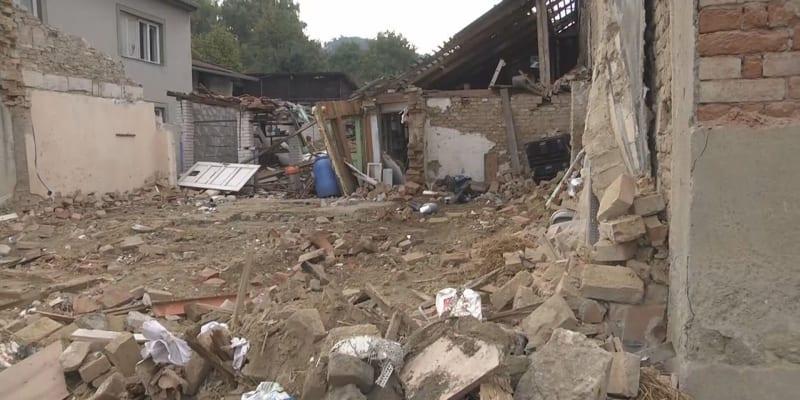 Dobrovolní hasiči z Koryčan do domu vyjížděli na základě oznámení o úniku plynu.