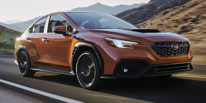Subaru WRX (2022).