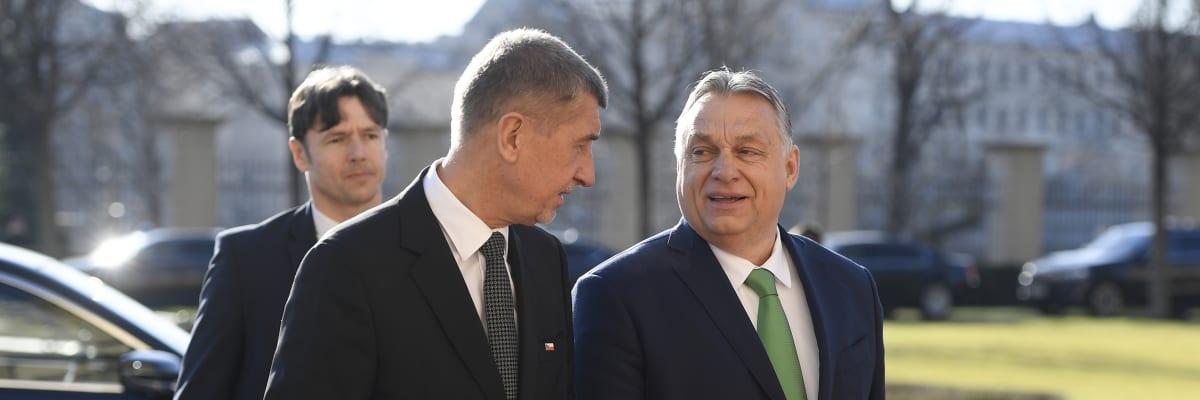 Babiš vytahuje silný kalibr. Do kampaně zapojí Orbána, navštíví spolu Ústecký kraj