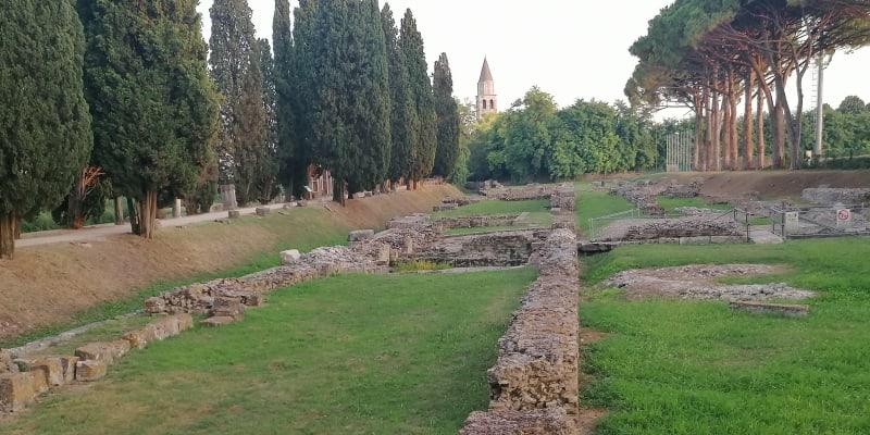 Aquileia, říční římský přístav
