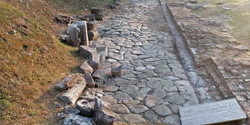 Aquileia, římská silnice