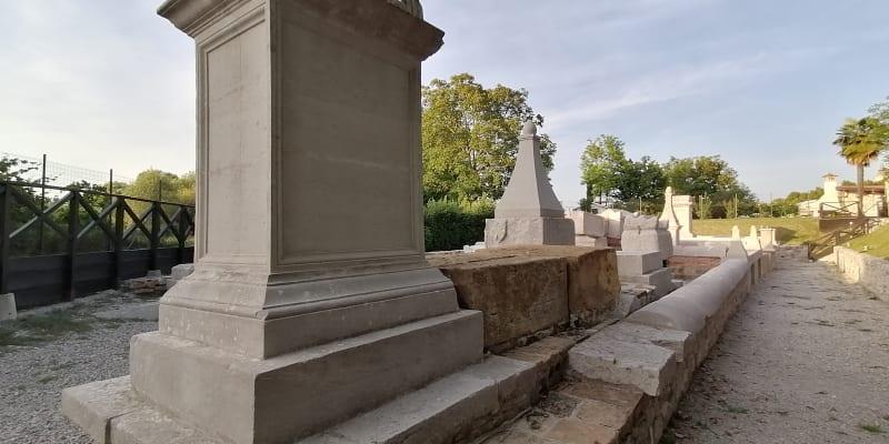 Aquileia, pozůstatky římského hřbitova