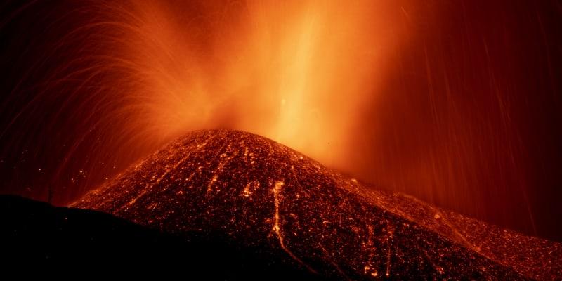 Aktivita sopky na ostrově La Palma zesílila.