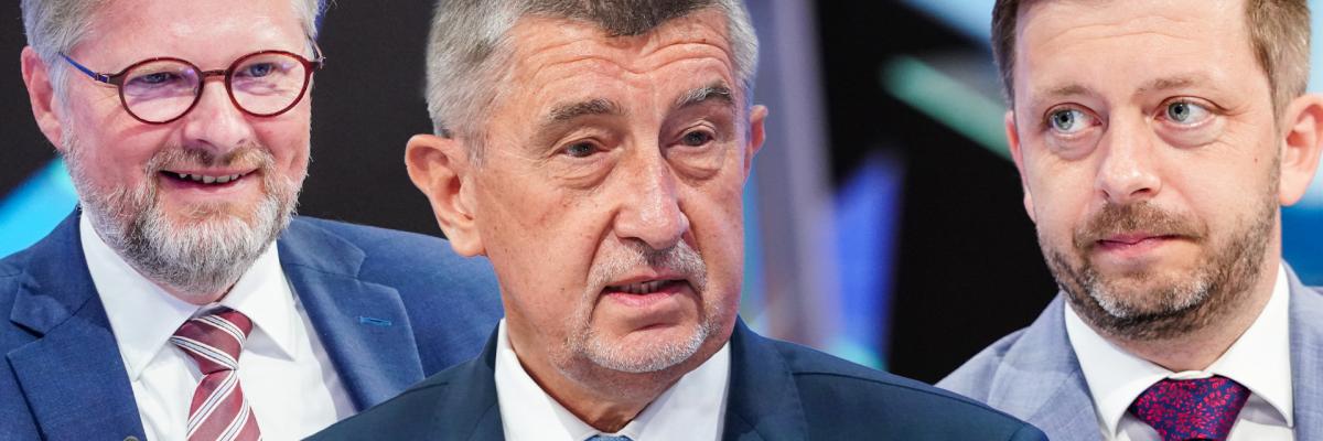 ON-LINE: Babiš, Fiala i Rakušan. Osm politických lídrů v superdebatě Česko hledá premiéra