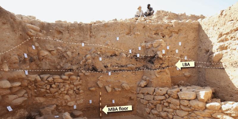 Naleziště v oblasti Tall el Hammam