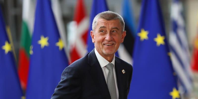 Premiér Andrej Babiš v Bruselu