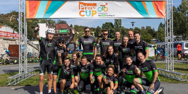 Prima CUP si užila řada hvězd.