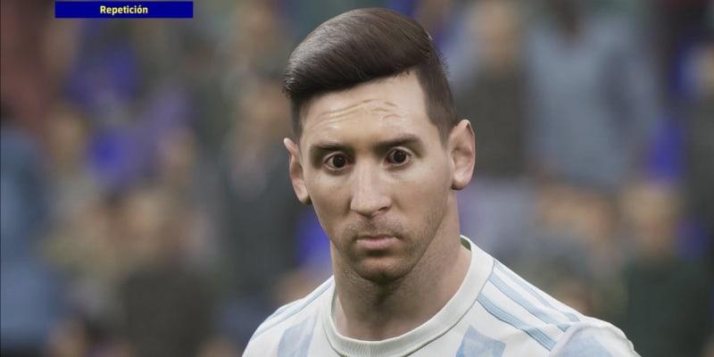 Internetovým prostorem proletěla série obrázků ze hry eFootball, které ukazují nepříliš povedené grafické ztvárnění Lionela Messiho i dalších špičkových sportovců.