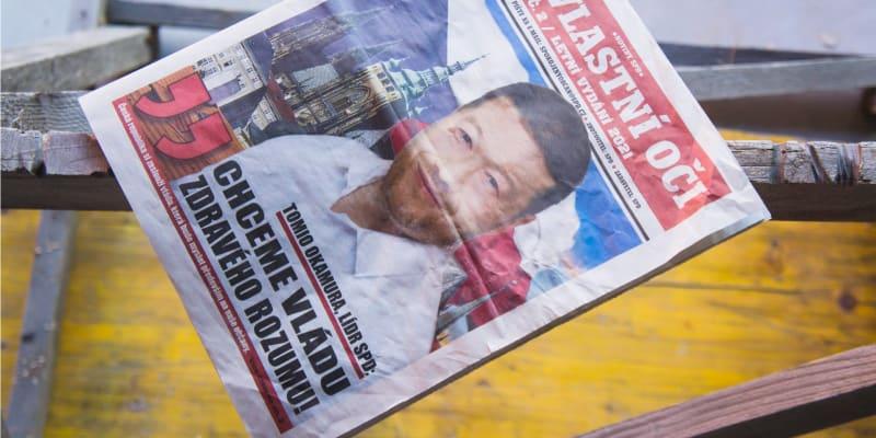 Předvolební noviny Tomia Okamury
