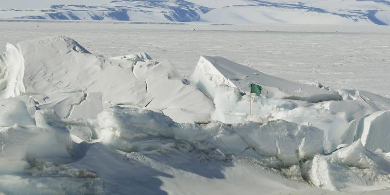 Počasí na Antarktidě doprovází extrémní výkyvy.