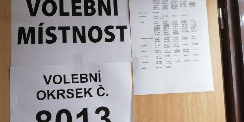 Volební okrsek 8013  v Ostravě vykazuje747 voličů. V pátek volil jen nepatrný zlomek  nich, konkrétně 4,29 procenta.