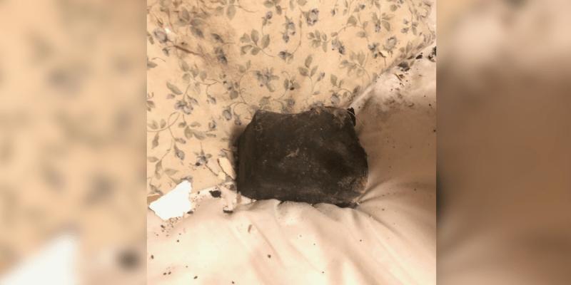 Meteorit si prý nechá na památku i pro její vnoučata.