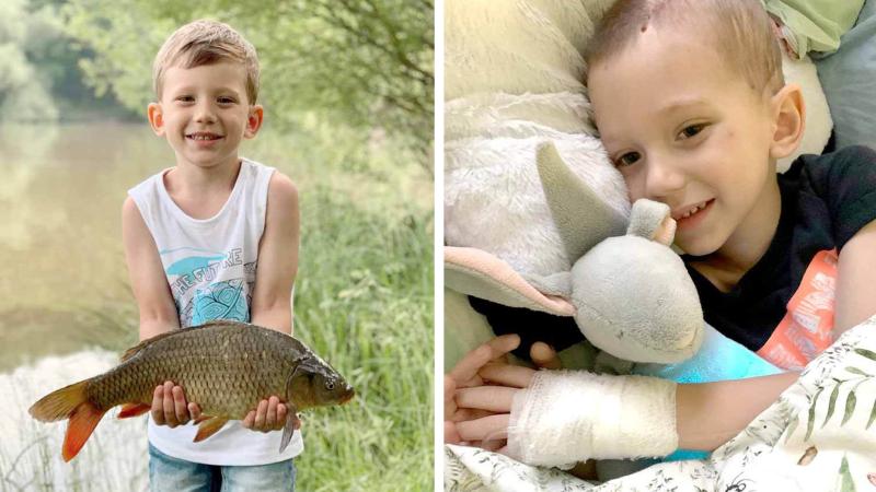 Chlapeček z Brna bojoval o život kvůli covidu. Syndrom mu způsobil krvácení do mozku