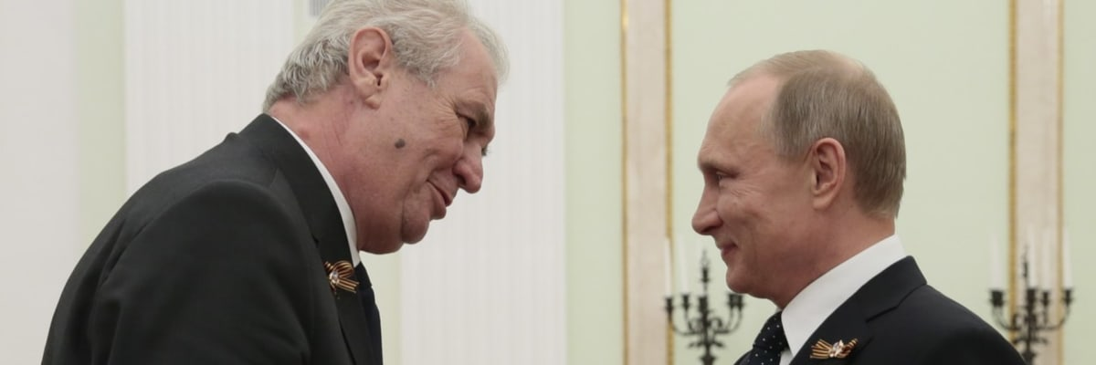 Zemana je nám líto. Pokud bude ministrem Kolář, nebudeme se s ním bavit, zní z Moskvy